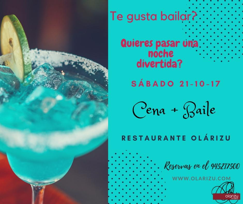 Cena + Baile 21-10-17