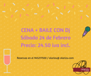 Cena + Baile 27-1